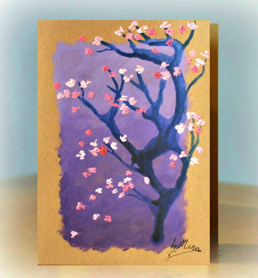 Gift of Art - Blossom with Purple