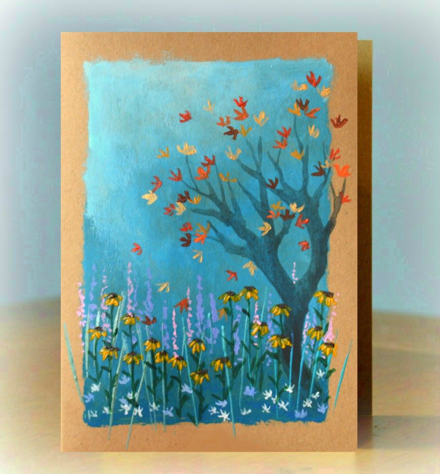 Gift of Art - Autumn Rudbekias