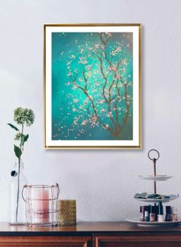 Blossom - Print to fit A4 frame