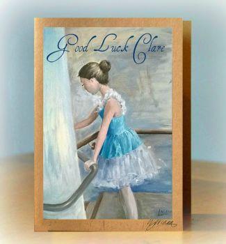 Personalised Ballet Card