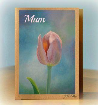 Personalised Tulip Card