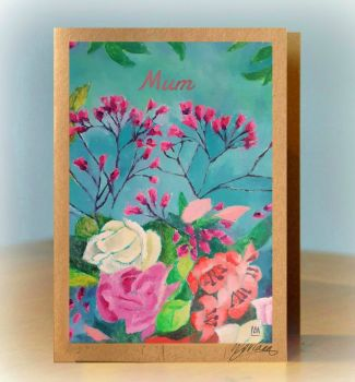 Personalised Bouquet card