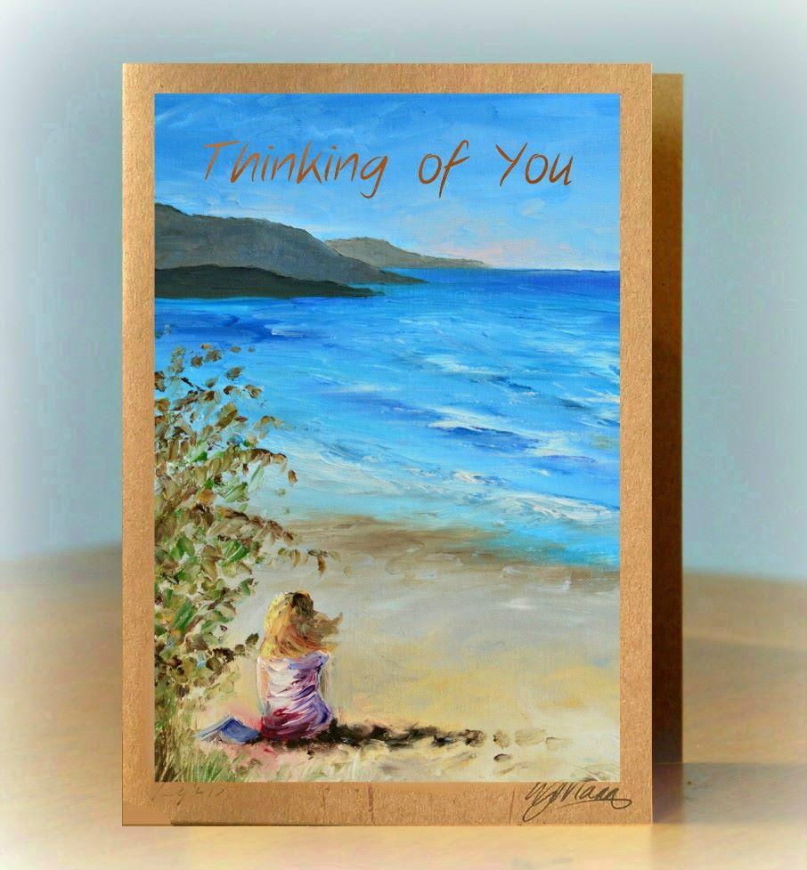 Personalised Beach Card