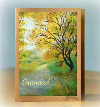 Personalised Woodland Card