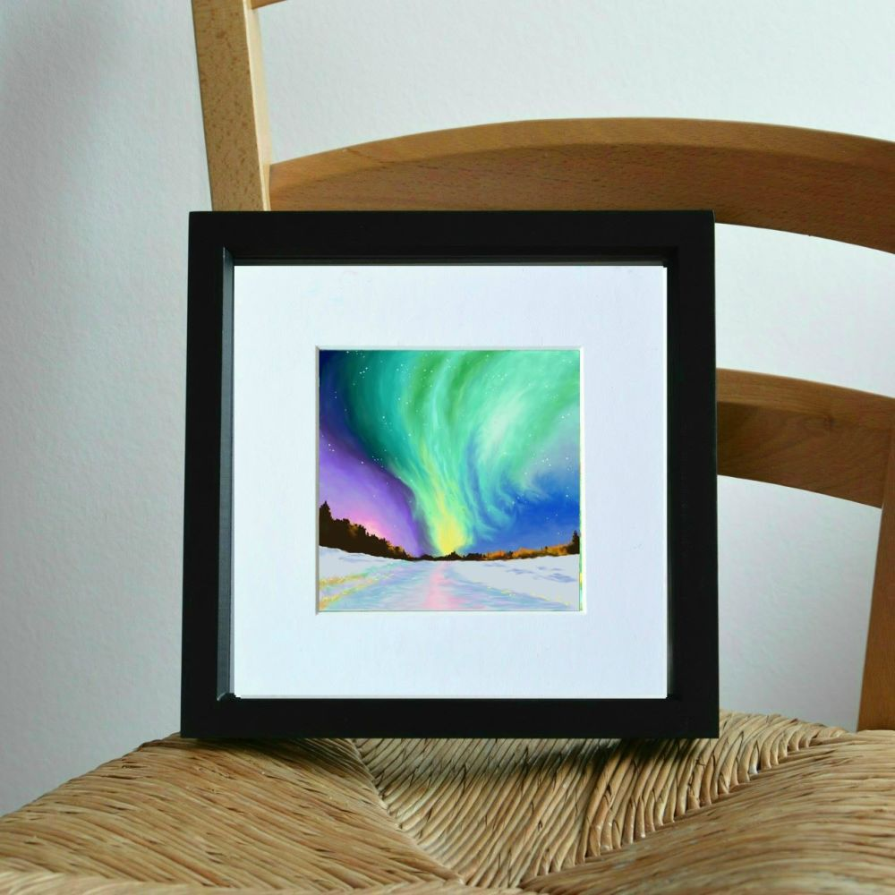 Aurora Mini Print