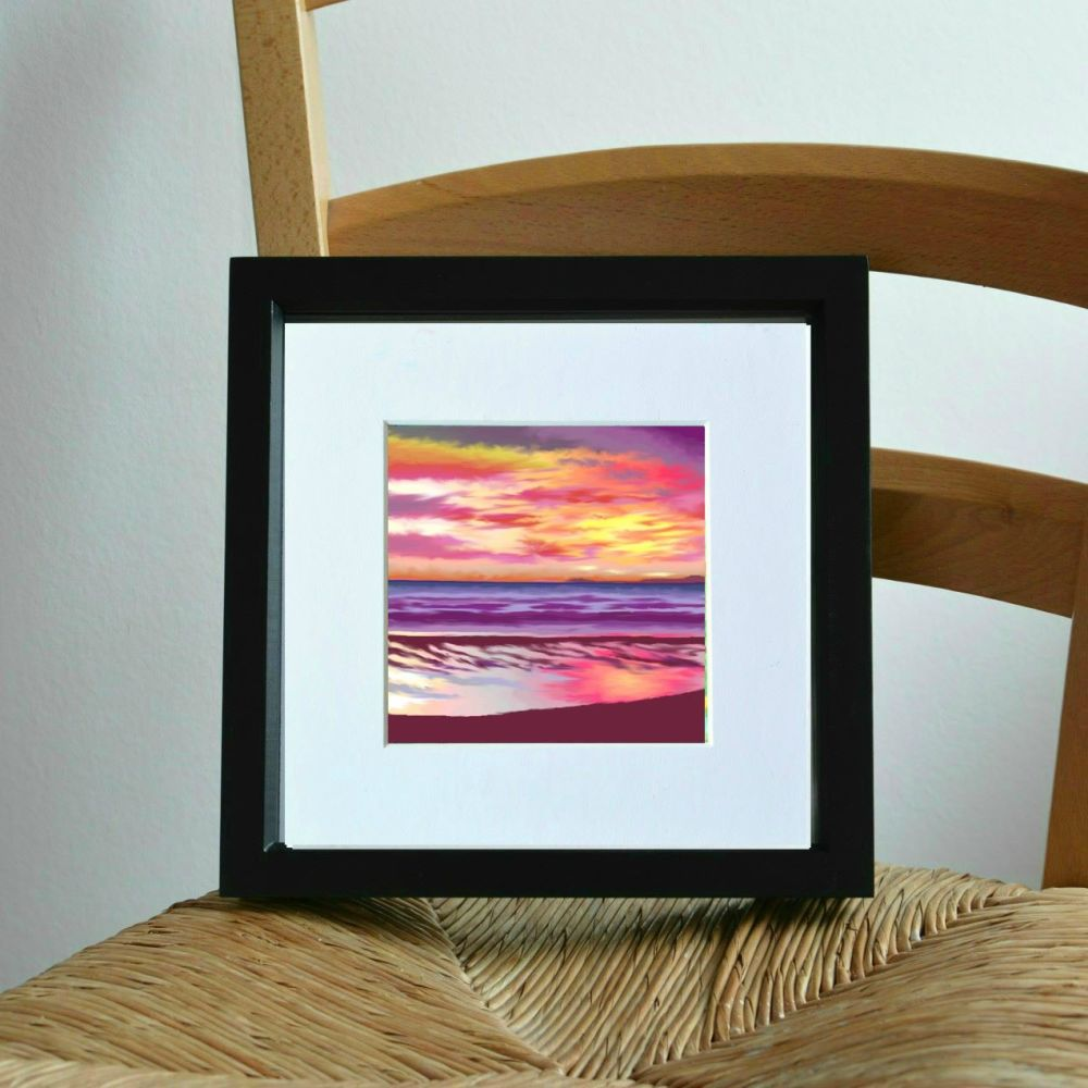 Pink Sunset Mini Print