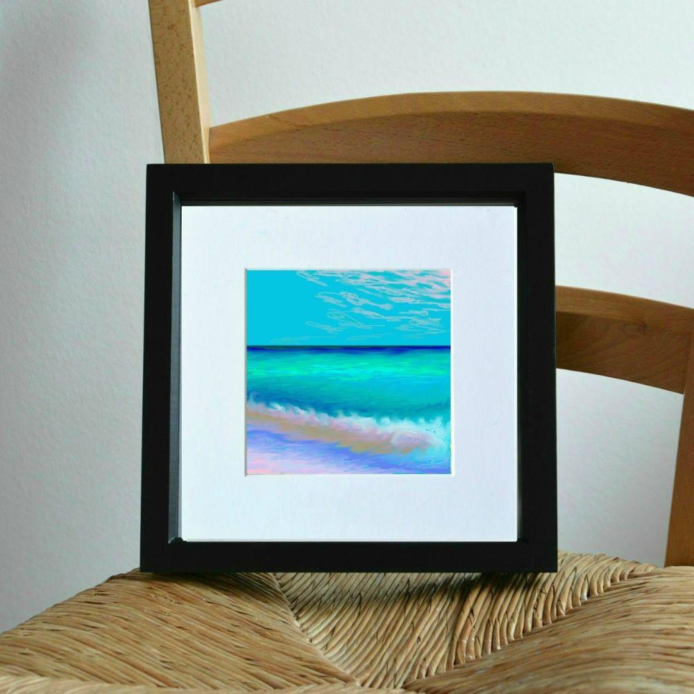 Sea and Sand 1 Mini Print