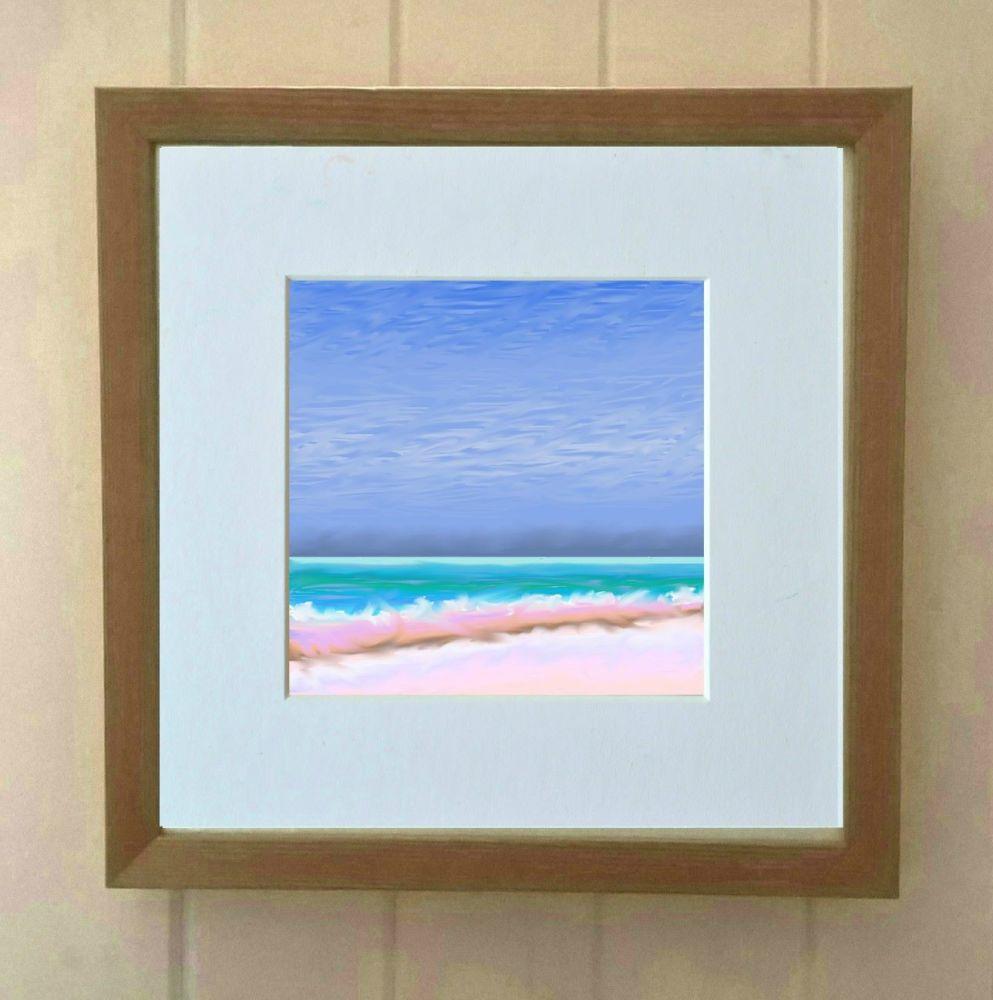 Sea and Sand 2 Mini Print