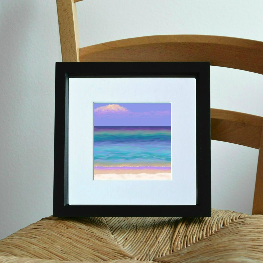 Sea and Sand 3 Mini Print