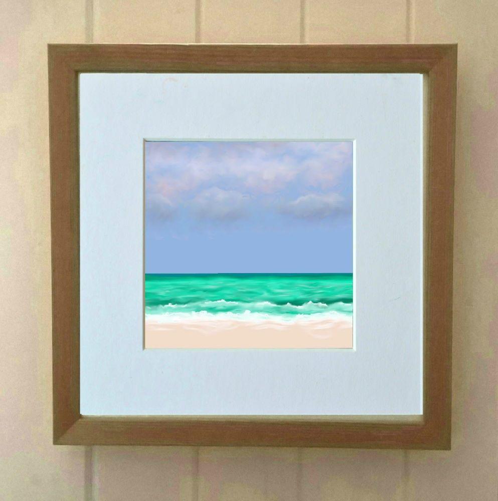 Sea and Sand 4 Mini Print