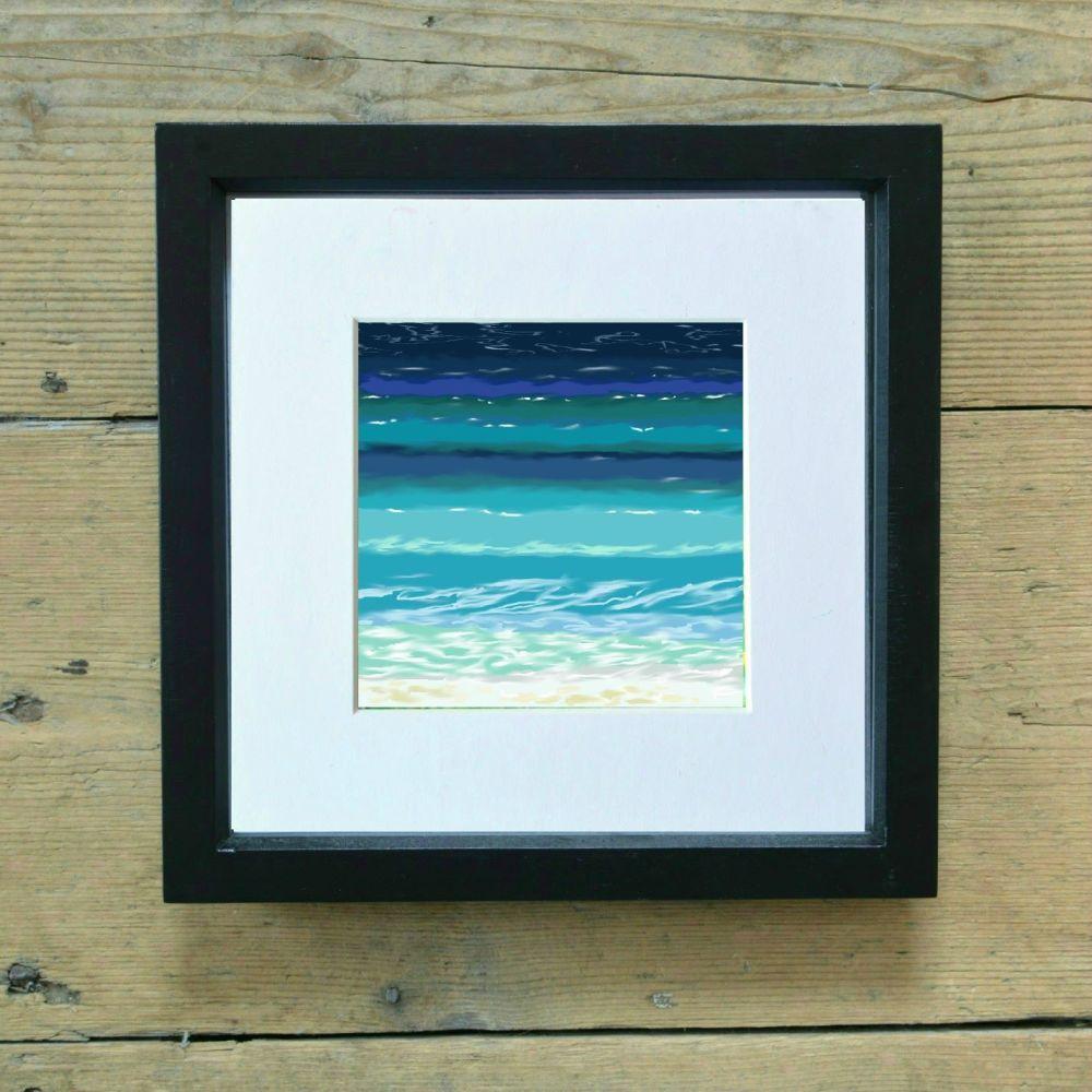 Sea and Sand 7 Mini Print