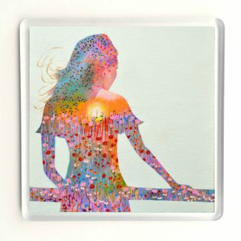 Sunshine Girl Coaster