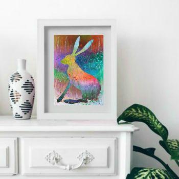 Summer Hare Print