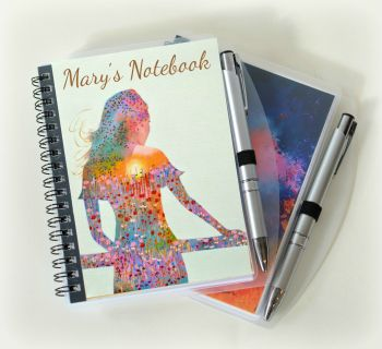 Sunshine Girl Notebook - Personalised