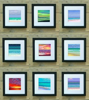 Collection of Sea, Sand and Sunsets Mini Prints - Special Price
