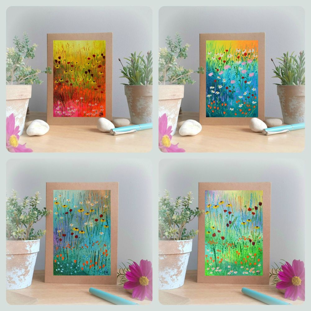 Special Offer - Four Meadow Cards for £8 with free UK postage