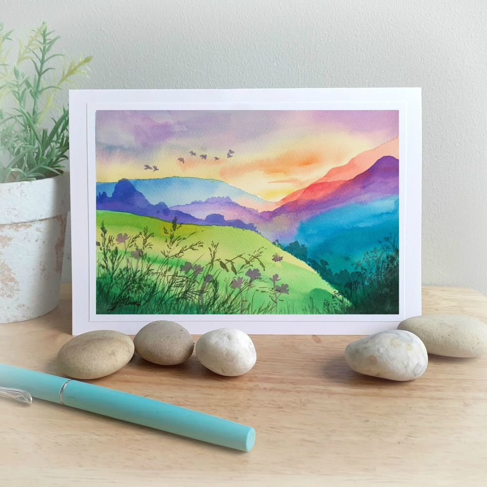 Colourful Mountains