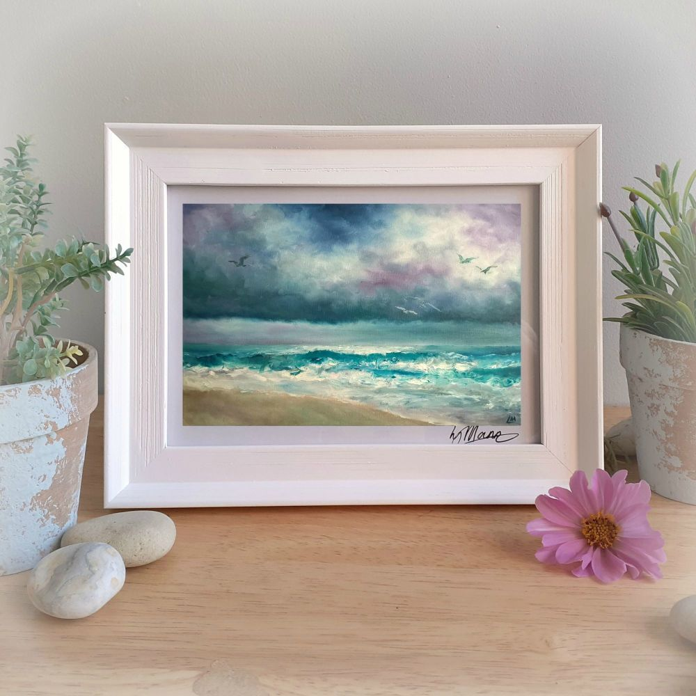 Storm Brewing Framed Gift Print