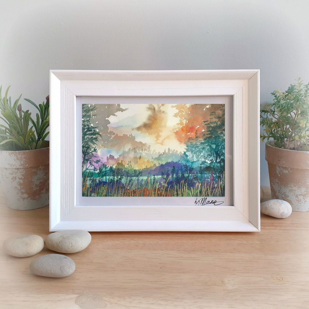 Morning Framed Gift Print