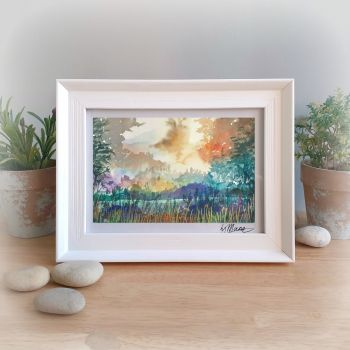 Morning Framed Gift Print