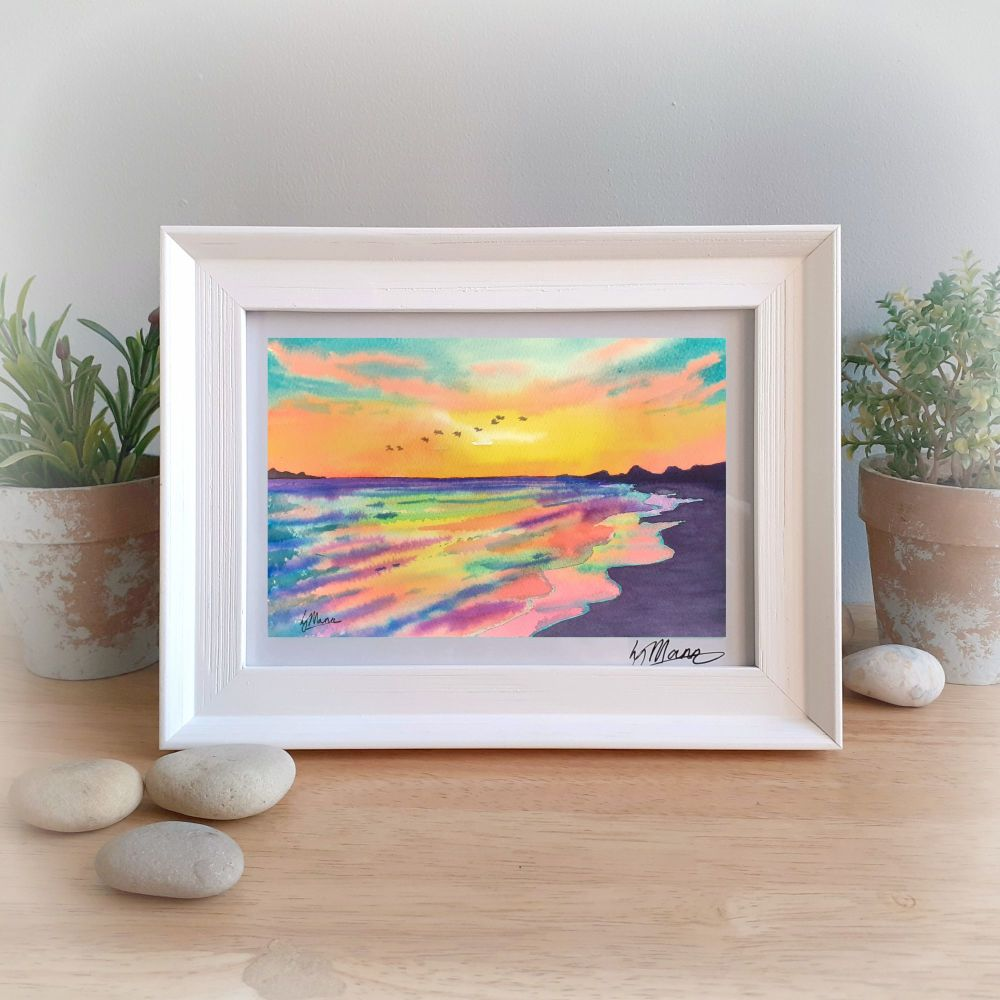 Sunset Framed Gift Print
