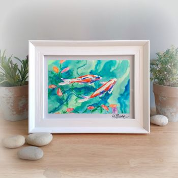 Koi Framed Gift Print