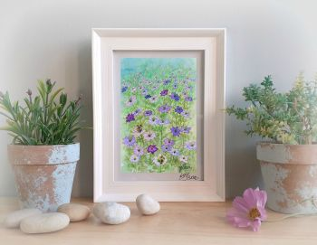 Love in the Mist Framed Gift Print