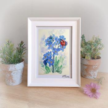 Ladybird Framed Gift Print