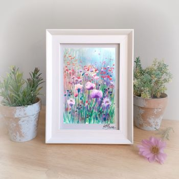 Among the Poppies Framed Gift Print