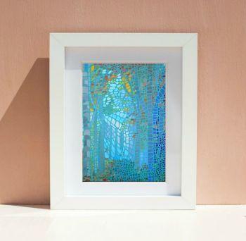 Mosaic Forest Print 3