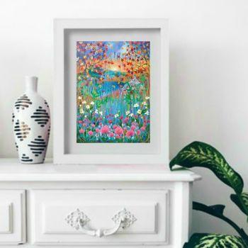 Oriental Garden Print