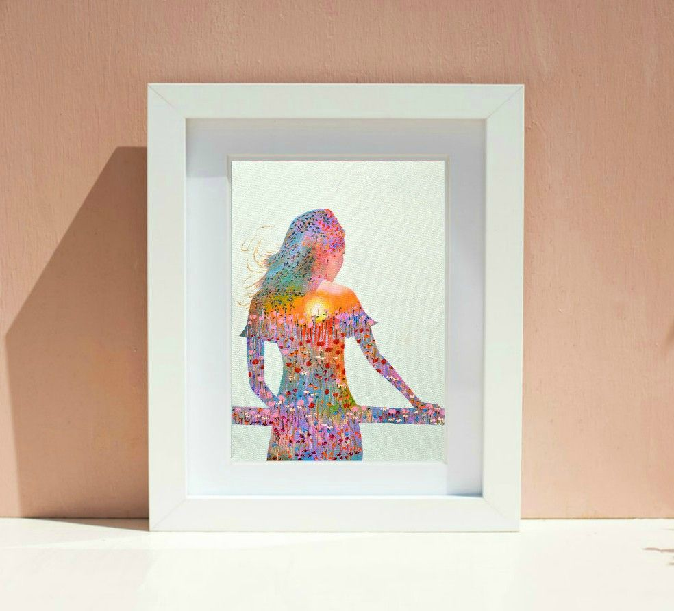 Sunshine Girl Print