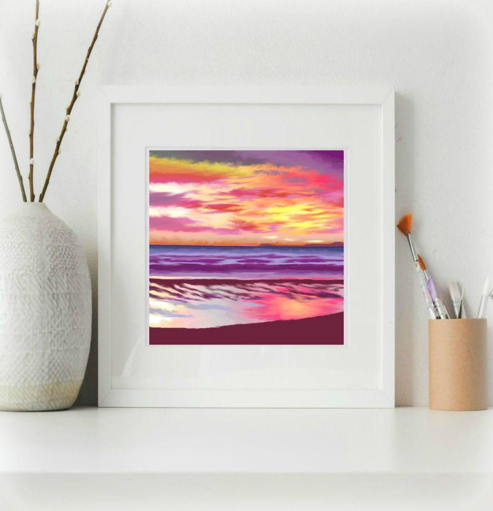 Sunset 2 Print