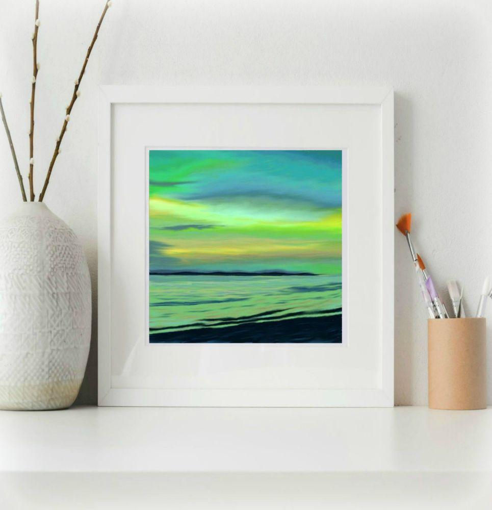 Sea and Sand 6 Print