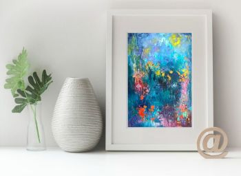 Abstract Garden Print