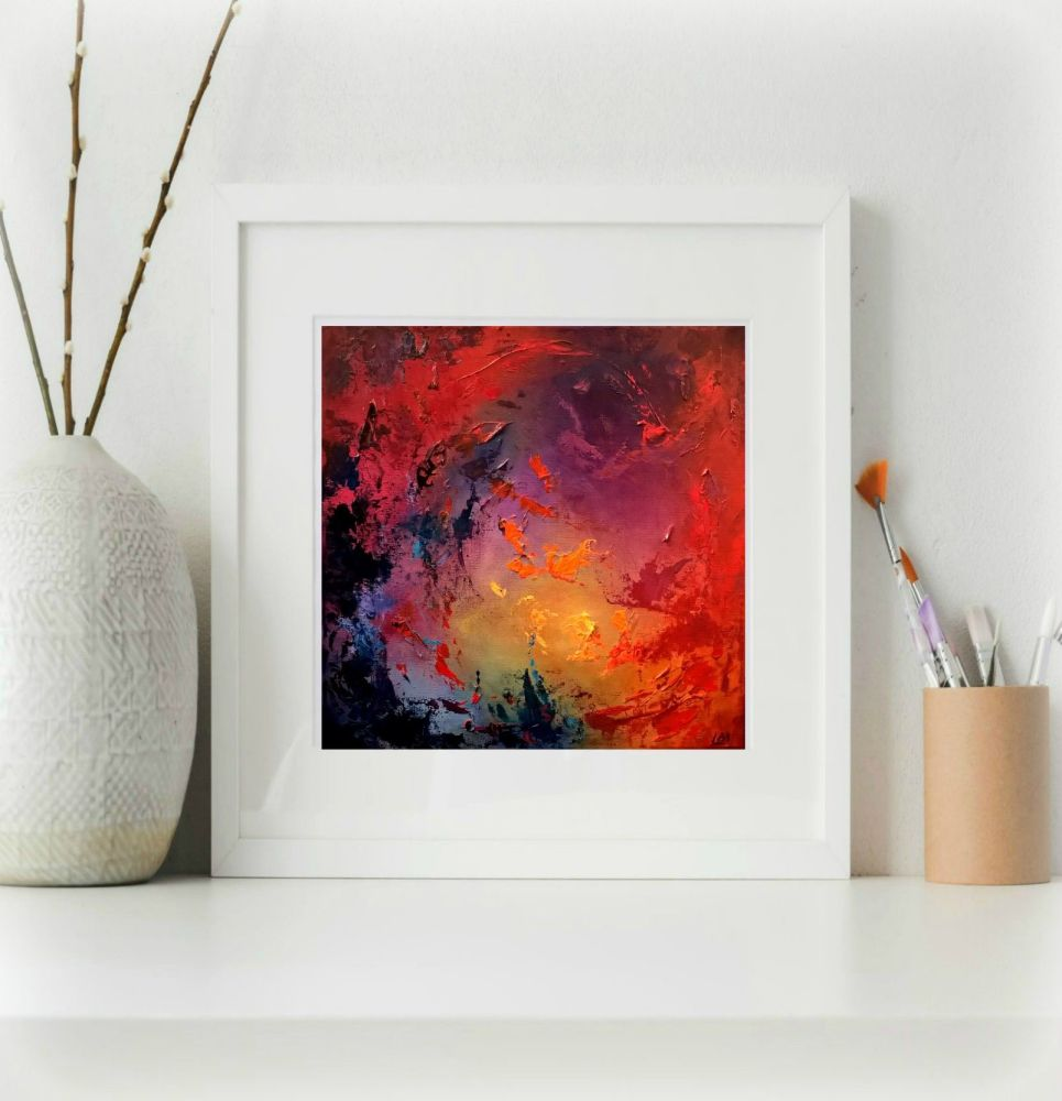 Flame Dance Print