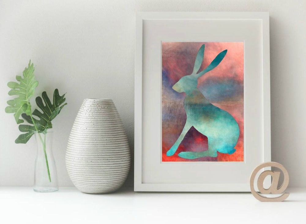 Hare Print - Calm Hare