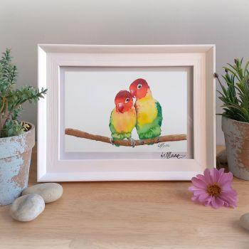 Love Birds Framed Gift Print