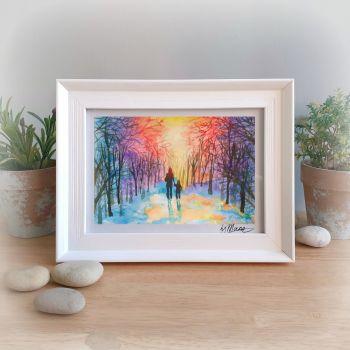 Home Time Framed Gift Print
