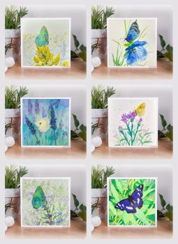 Butterfly Theme - Mini Cards Set