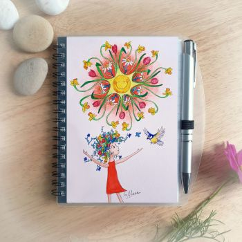 Hello Sunshine Notebook and Silver Pen