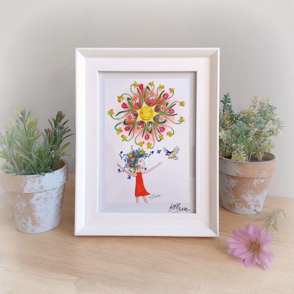Hello Sunshine Framed Gift Print