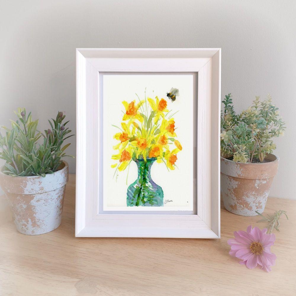 Daffodils Framed Gift Print