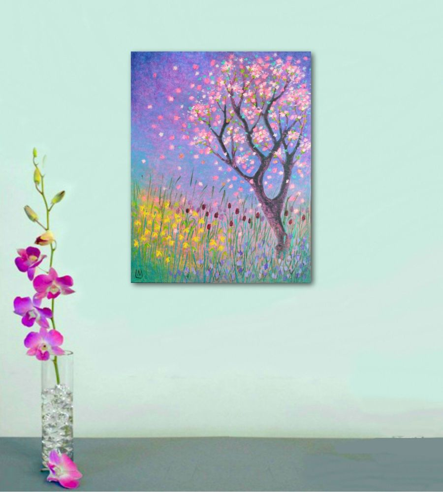 Spring - Original Artwork by Lisa Mann