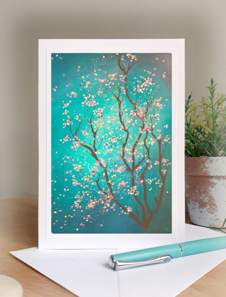 Turquoise Blossom