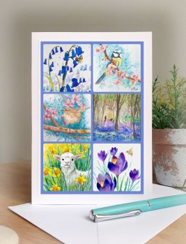 Images of Spring Card