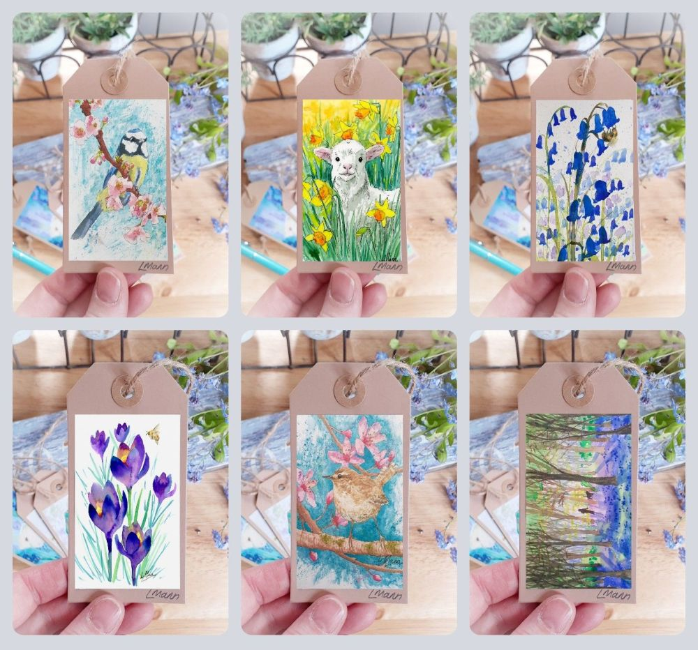 Spring Themed Gift Labels 2