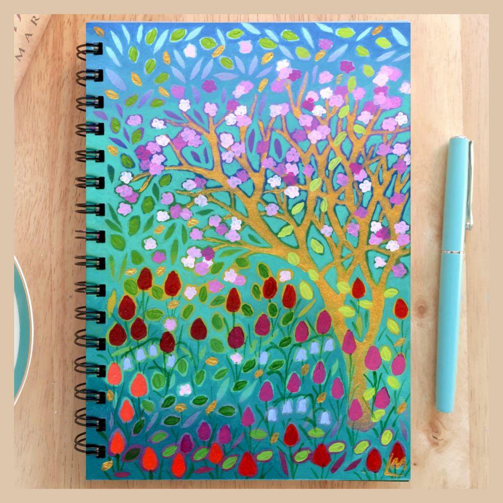 Hand Painted Unique Notebooks