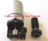 Garrett Hella style electronic wastegate actuator worm gear and motor (C)