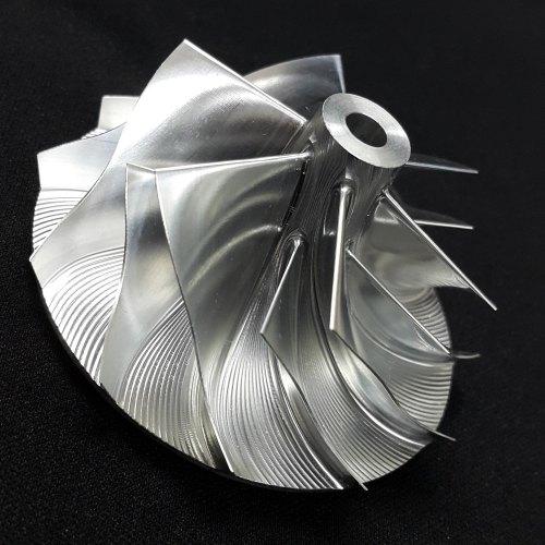 4LEF Turbo Billet turbocharger Compressor impeller Wheel 59.70/93.99 (18420